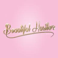 Beautiful Hustler Logo square (hotwetkitty resident)