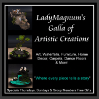 LadyMagnum's Galla of Artistic Creations Logo