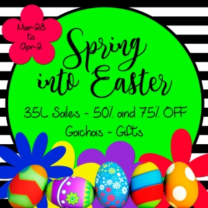Spring Into Easter Sales