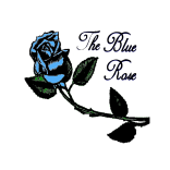 The Blue Rose Logo White