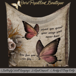 35L DPB Butterfly Wall Hangings - Spread Wings