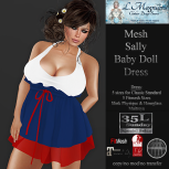 35L Sun LMagnums Mesh Sally Baby Doll Dress - Tri Color 6
