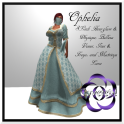 Ophelia in Teal for Mesh Bodies