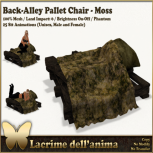 (PIC) Back-Alley Pallet Chair - Moss