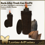 (PIC) Back-Alley Trash Can FirePit