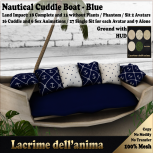(PIC) Nautical Cuddle Boat - Blue