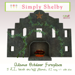 Simply Shelby alamo outdoor fireplace