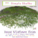Simply Shelby Round Wildflower Fields