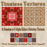 TT 12 Seamless or S-Alpha Sultan's Selection Timeless Textures