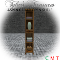 .TT. ASPEN OPEN SHELF CEDAR MP AD