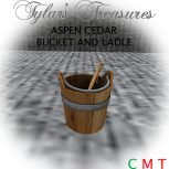 .TT. ASPEN SAUNA BUCKET & LADLE MP AD