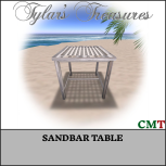 .TT. SANDBAR TABLE MP AD