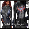 USA Patriot Biker Jacket in FItmesh 5SS