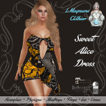 35L Sun LMagnums Sweet Alice Dress - Butterfly