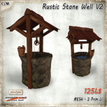 AD Rustic Stone Well V2