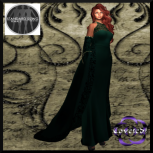 Bellatrix Gown & Cape in 5 Standard Sizes