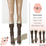 Bonnie BROWN Boots Advert