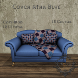 [M] Couch Atha BlueAD