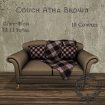 [M] Couch Atha BrownAD