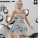 [PIC] Carolina Dress - Blue