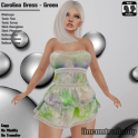 [PIC] Carolina Dress - Green
