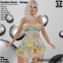[PIC] Carolina Dress - Orange