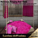 (PIC) Moroccan Hanging Bed - Pink