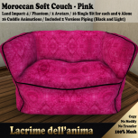 (PIC) Moroccan Soft Couch - Pink