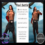 RED BATTLE for MEN