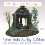Simply Shelby Arbor Ruin Spring Edition