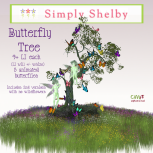 Simply Shelby Butterfly Tree