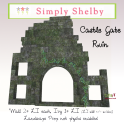 Simply Shelby Castle Gate Ruin