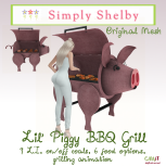 Simply Shelby lil Piggy BBQ