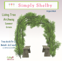 Simply Shelby Living Tree Archway summer