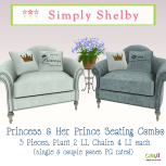 Simply Shelby Prince & Princess Chairs