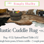 Simply Shelby Rustic Cuddle RugPG