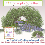 Simply Shelby wildflower tunnel