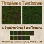 TT 10 Seamless Grass Roots Timeless Textures