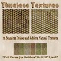 TT 12 Seamless Drakes and Adders Natural Timeless Textures