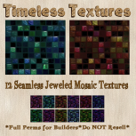 TT 12 Seamless Jeweled Mosaic Timeless Textures