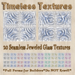 TT 20 Seamless Jeweled Glass Timeless Textures