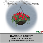 .TT. HANGING BASKET WITH FLOWERS mp ad