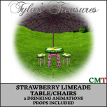 .TT. STRAWBERRY LIMEADE TABLECHAIRS MP AD