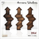 AD Arrows Shelves