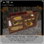 Asger cheese storage w