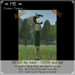 Asger GREEN and red w