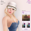 AvaGirl - Alex Hair with Cap Ad