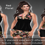 Flower Dress Red [TF]