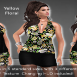 Flower dress Yellow [TF]