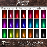 January ~ NailsMegaCollectionDisplay